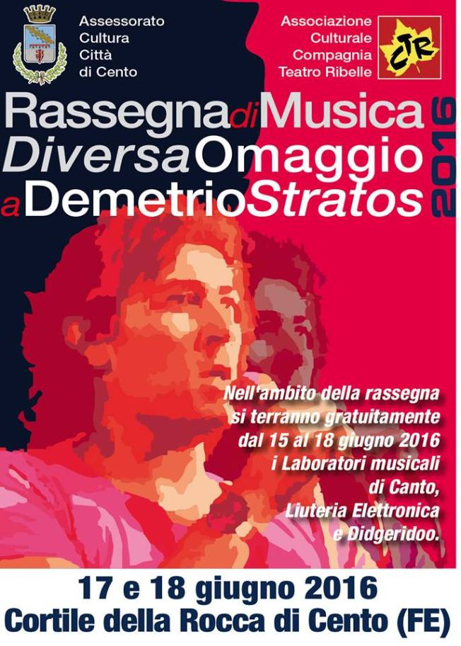 omaggio a Demetrio Stratos 2015 poster