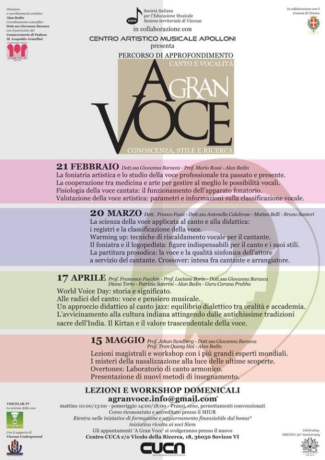 poster of A GRAN VOCE bis